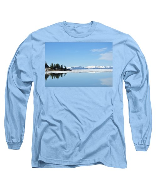 Yellowstone Lake In The Spring Long Sleeve T-Shirt