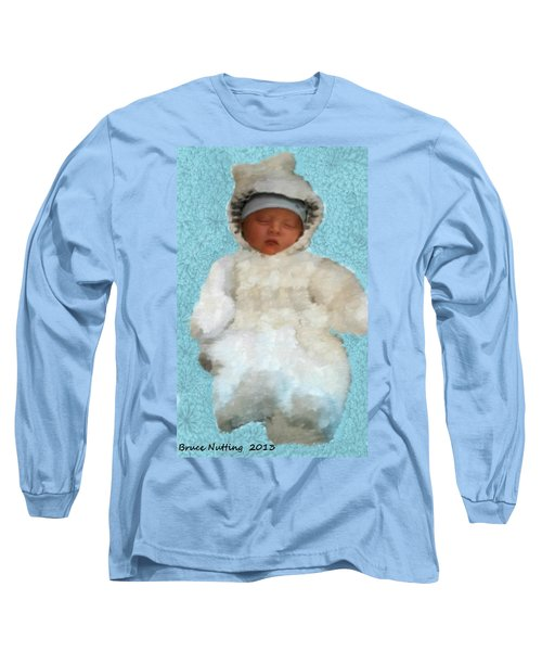 Long Sleeve T-Shirt featuring the painting Zachary by Bruce Nutting