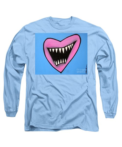 Zombie Heart Long Sleeve T-Shirt by Thomas Valentine