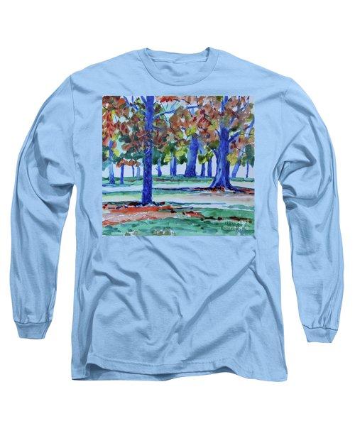 Fall In My Backyard Long Sleeve T-Shirt