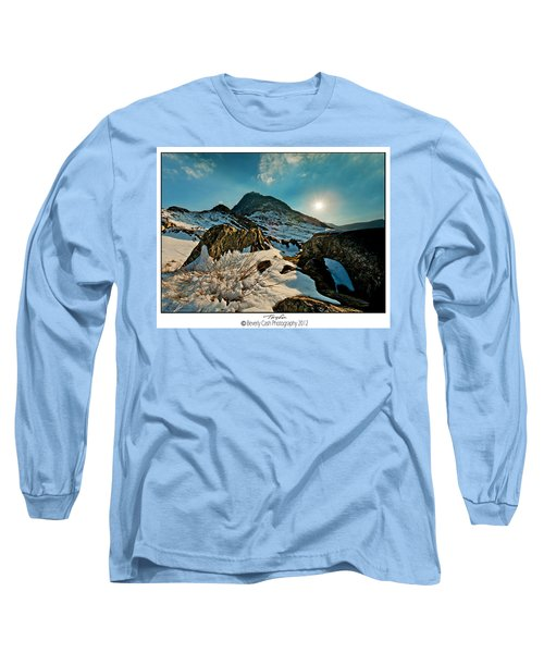 Spring Snows At Tryfan Long Sleeve T-Shirt