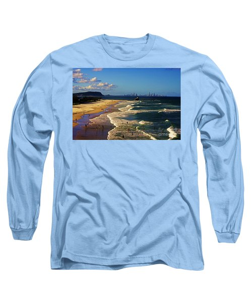 Gold Coast Beaches Long Sleeve T-Shirt