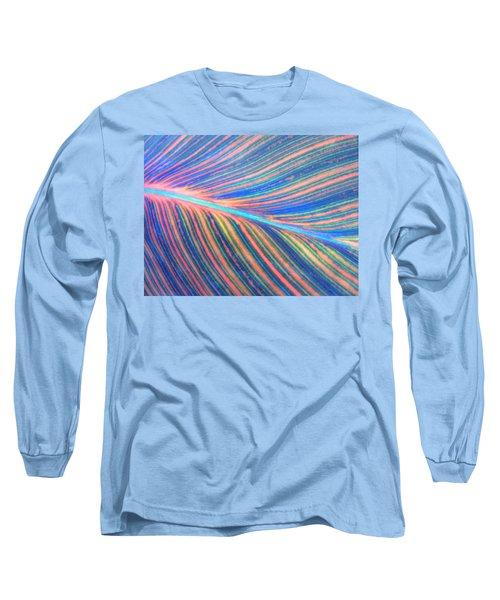 Leaf Colors Filtered Long Sleeve T-Shirt