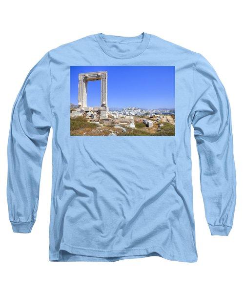 Naxos - Cyclades - Greece Long Sleeve T-Shirt