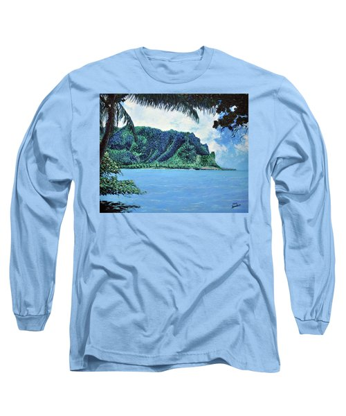 Pacific Island Long Sleeve T-Shirt by Stan Hamilton