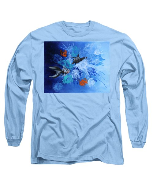 Richies Fish Long Sleeve T-Shirt by Wendy Shoults