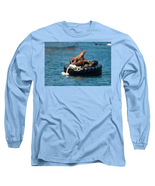 Monterey Harbour Long Sleeve T-Shirt