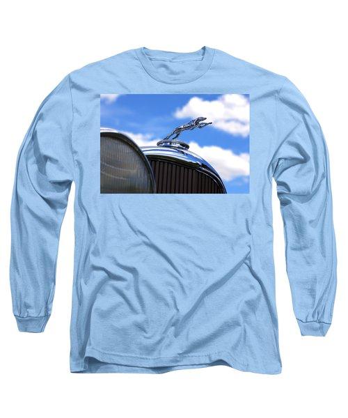 Long Sleeve T-Shirt featuring the photograph 1932 Lincoln Kb Brunn Phaeton by Gordon Dean II
