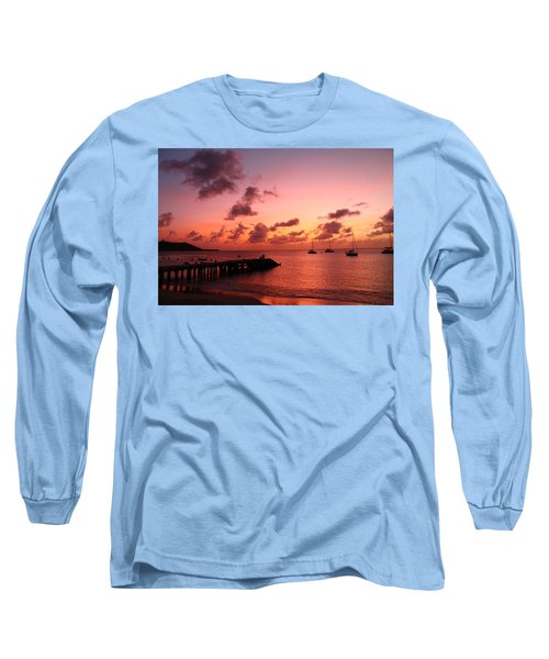 Sunset Long Sleeve T-Shirt by Catie Canetti