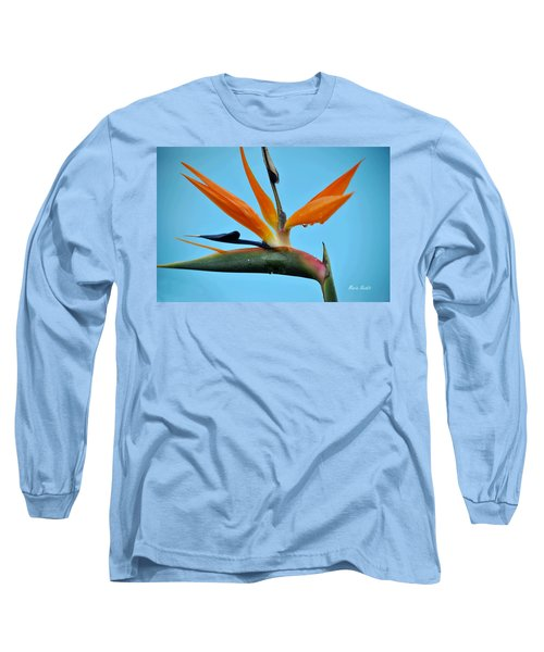 A Bird By The Pool Long Sleeve T-Shirt