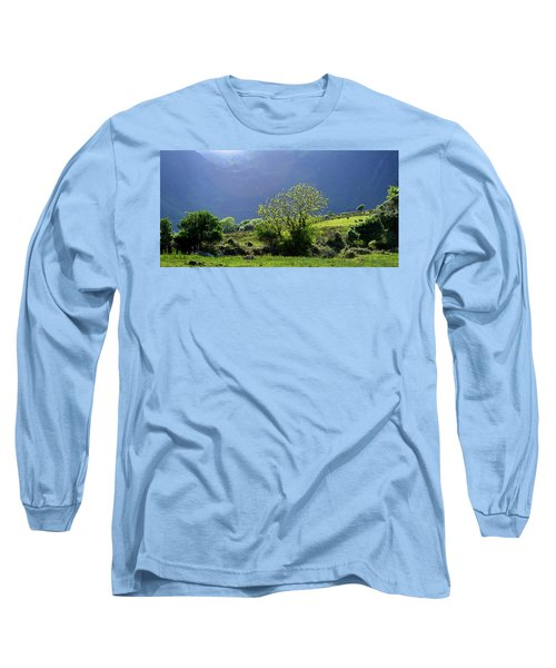 Against The Light Long Sleeve T-Shirt by Barbara Walsh