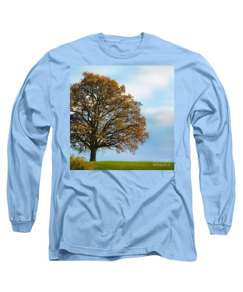 Alone On The Hill Long Sleeve T-Shirt