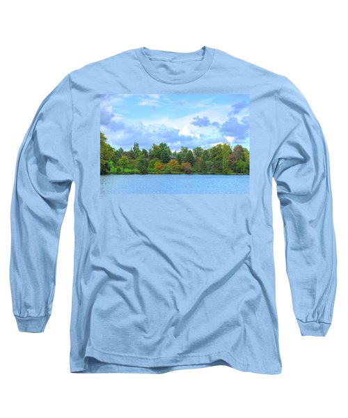 Long Sleeve T-Shirt featuring the photograph Autumn's Beauty At Hoyt Lake by Michael Frank Jr