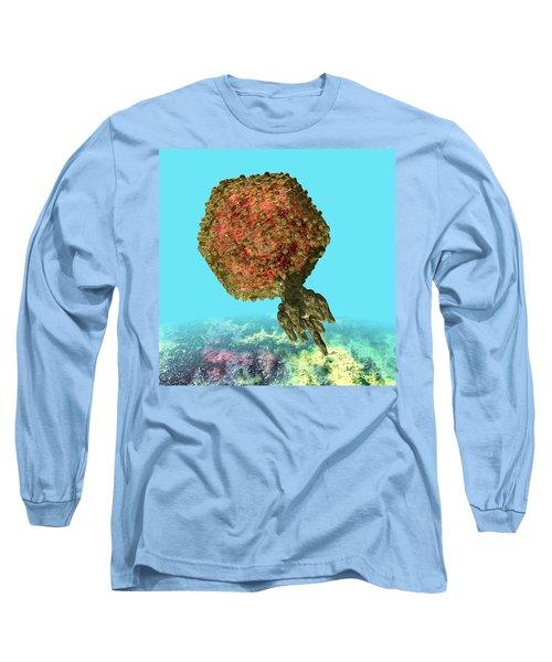 Bacteriophage P22 Long Sleeve T-Shirt