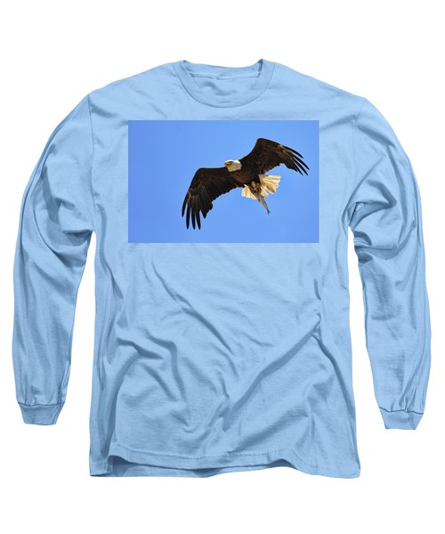 Bald Eagle Catch Long Sleeve T-Shirt