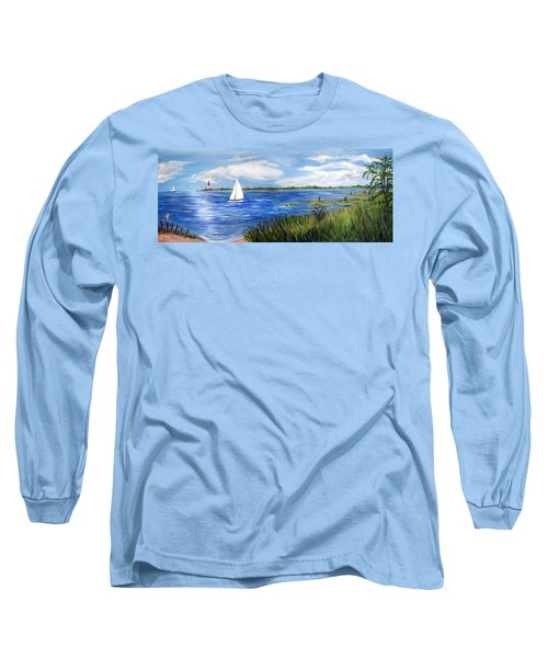 Bayville Marsh Long Sleeve T-Shirt