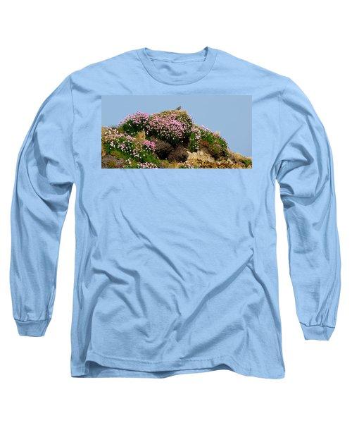 Beauty Long Sleeve T-Shirt by Barbara Walsh