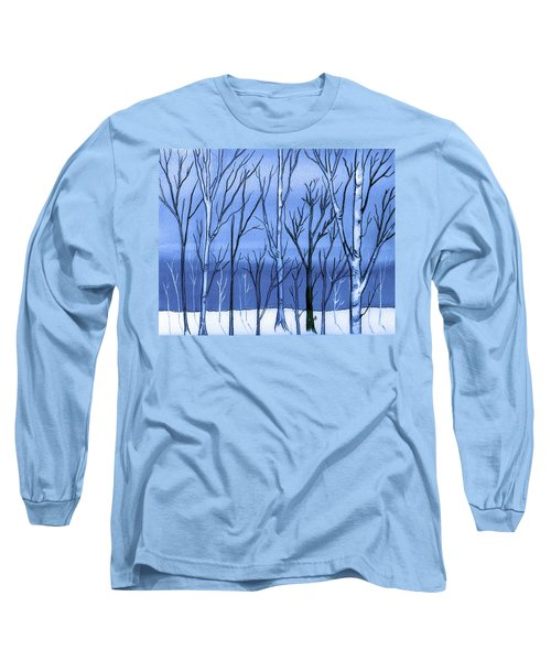Blue Interlude Long Sleeve T-Shirt