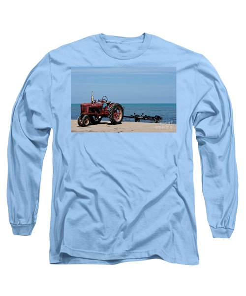 Long Sleeve T-Shirt featuring the photograph Boat Trailer by Barbara McMahon