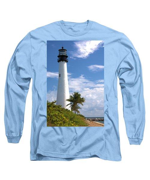 Cape Florida Lighthouse Long Sleeve T-Shirt