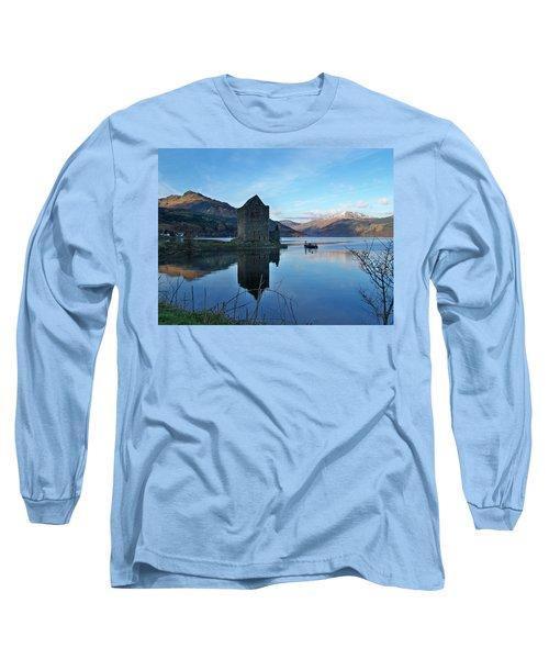 Long Sleeve T-Shirt featuring the photograph Carrick Castle by Lynn Bolt
