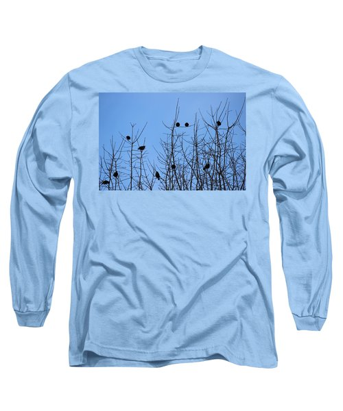 Circle Of Friends Long Sleeve T-Shirt by Kume Bryant