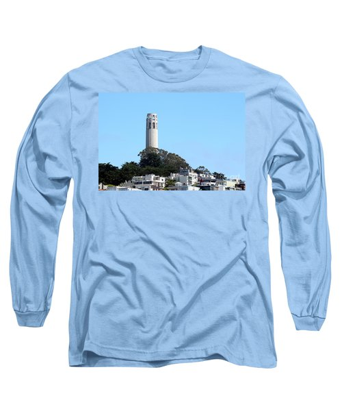 Coit Tower Long Sleeve T-Shirt