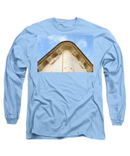 Corner Building Long Sleeve T-Shirt by Henrik Lehnerer