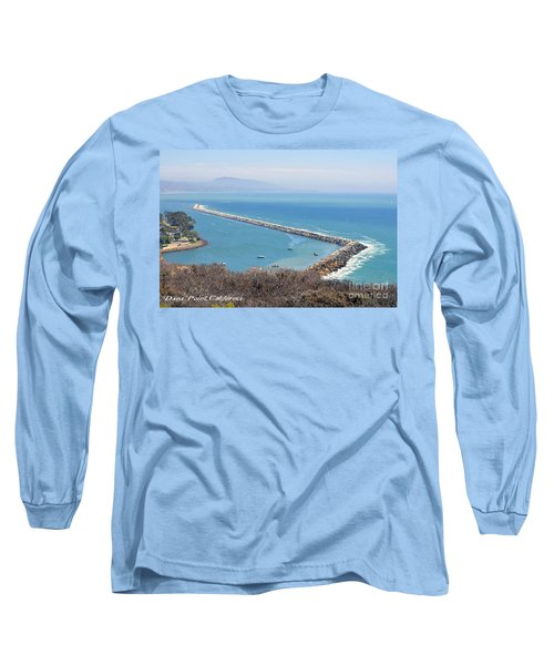 Dana Point California 9-1-12 Long Sleeve T-Shirt by Clayton Bruster