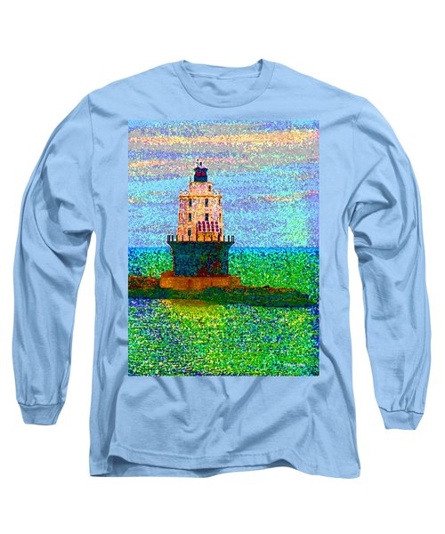 Long Sleeve T-Shirt featuring the photograph Delight House by Clara Sue Beym