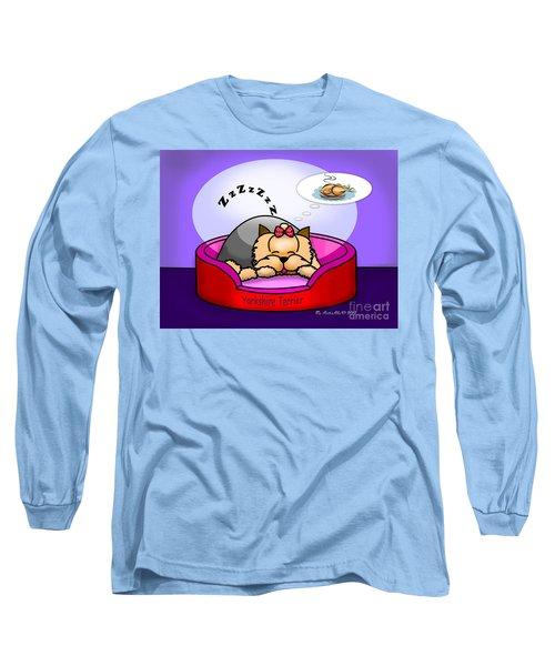 Dreaming Long Sleeve T-Shirt by Catia Cho