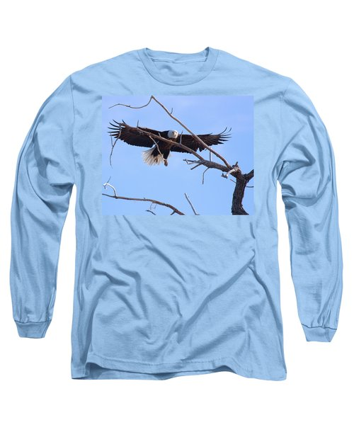Long Sleeve T-Shirt featuring the photograph Eyes On The Prize by Jim Garrison