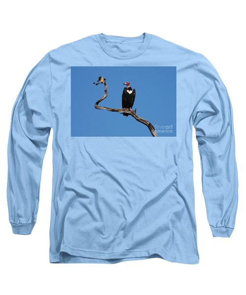 Long Sleeve T-Shirt featuring the photograph Face To Face by Fotosas Photography