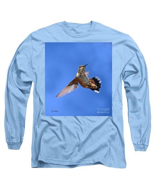 Flying Backwards - No Problem Long Sleeve T-Shirt