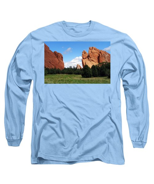 Long Sleeve T-Shirt featuring the photograph Garden Of The Gods by David Pantuso