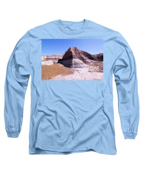 Giant Purple Mountain Long Sleeve T-Shirt