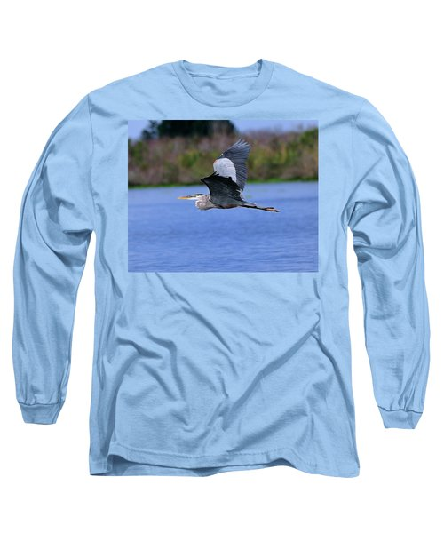 Great Blue Inflight Long Sleeve T-Shirt