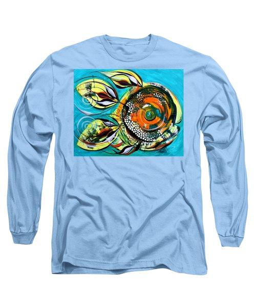 Gretchen Fish A Citrus Twist Long Sleeve T-Shirt