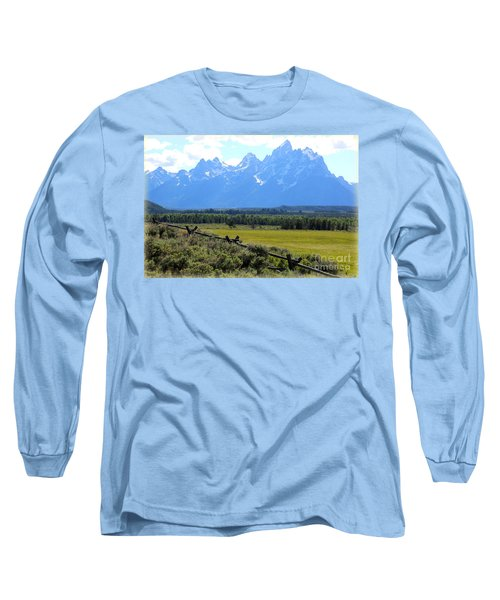Grizzly Country With Soft Vignette Long Sleeve T-Shirt