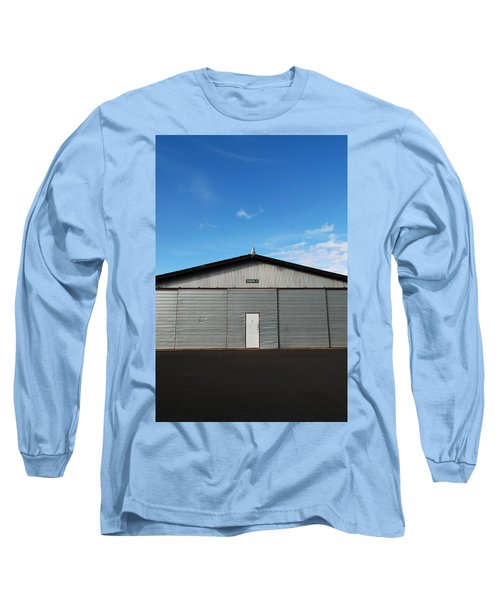 Long Sleeve T-Shirt featuring the photograph Hangar 2 by Kathleen Grace
