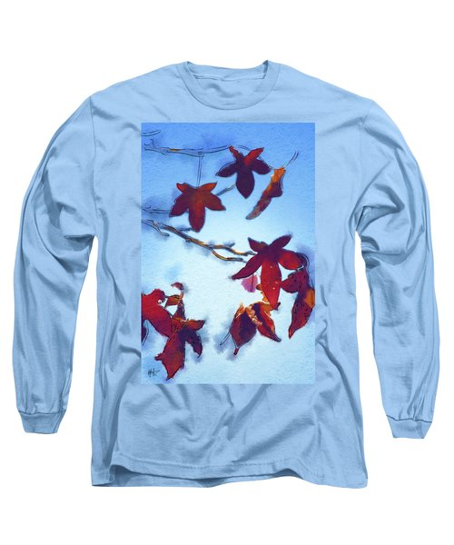 Long Sleeve T-Shirt featuring the digital art Here Today by Holly Ethan