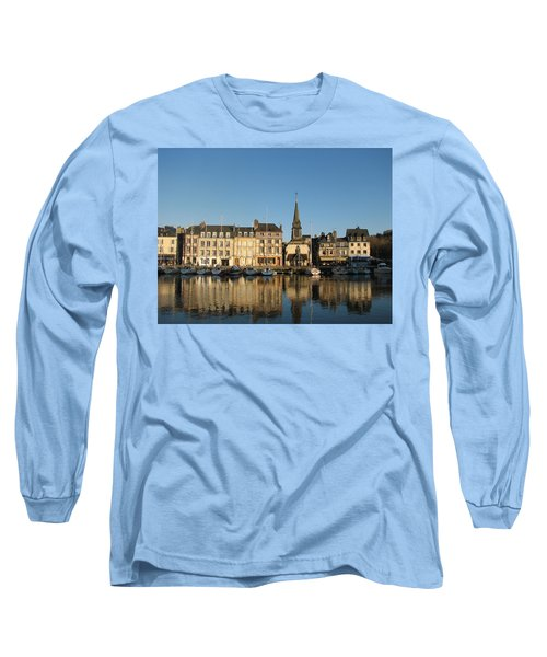 Long Sleeve T-Shirt featuring the photograph Honfleur  by Carla Parris