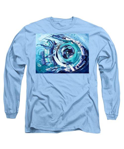 Icehole Fish Long Sleeve T-Shirt