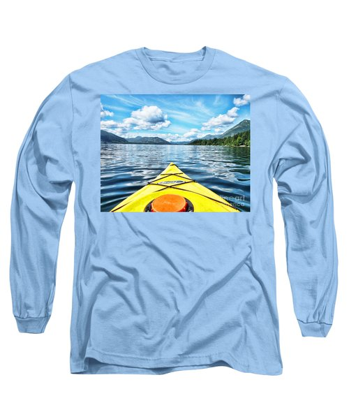 Kayaking In Bc Long Sleeve T-Shirt