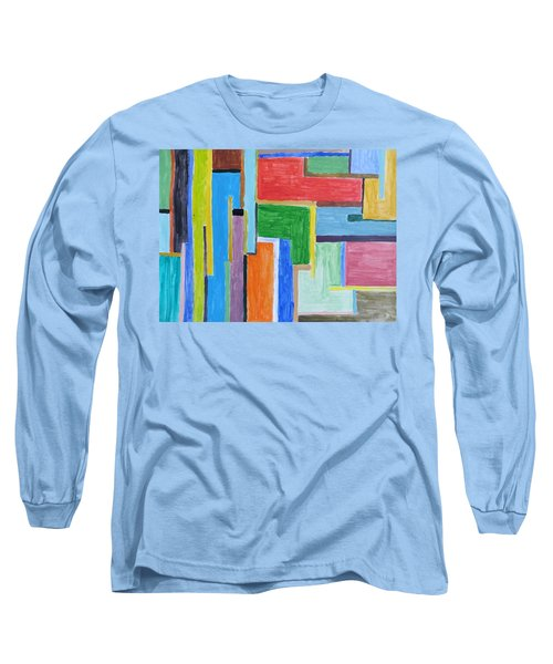 Long Sleeve T-Shirt featuring the painting Life by Sonali Gangane