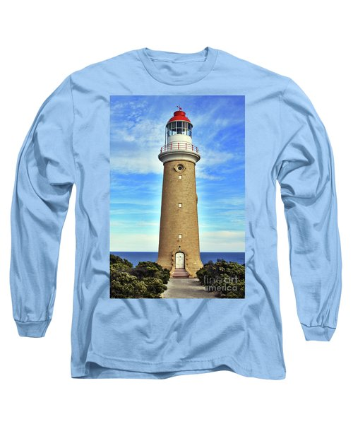 Light House At Cape Du Couedic Long Sleeve T-Shirt