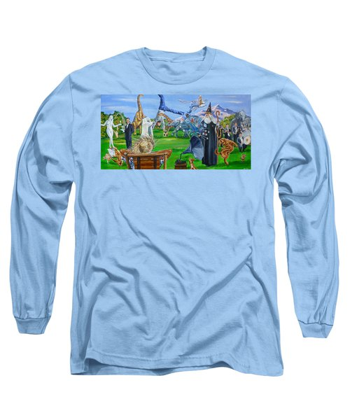 Looking Out My Back Door Long Sleeve T-Shirt