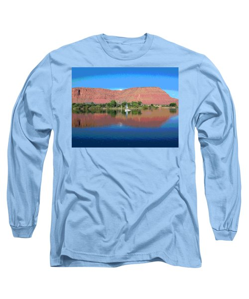 Reflections Of Ivins, Ut Long Sleeve T-Shirt