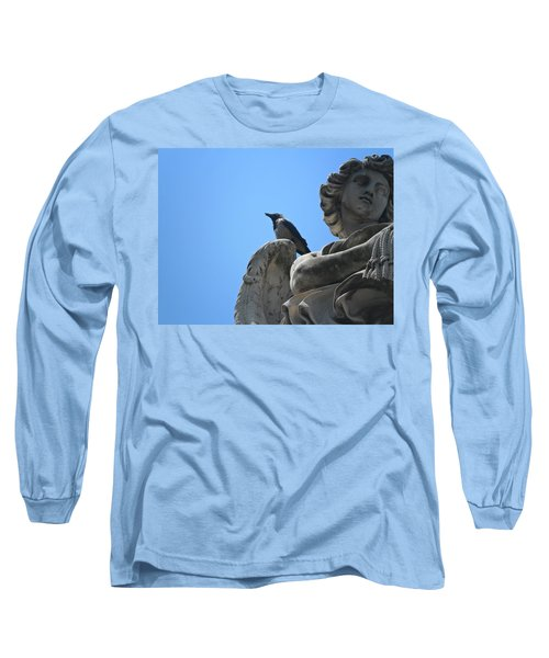 Long Sleeve T-Shirt featuring the photograph Lookout by Laurel Best