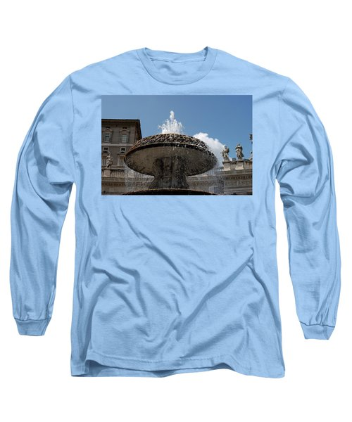 Maderno's Fountain Long Sleeve T-Shirt